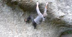 Rock Climbing Photo: Powerful start