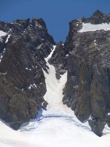 Rock Climbing Photo: U-Notch last week of June 2012.