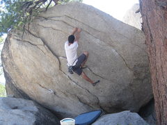 Rock Climbing Photo: AW on obe direct