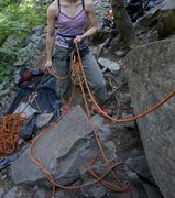 Rock Climbing Photo: XS harness