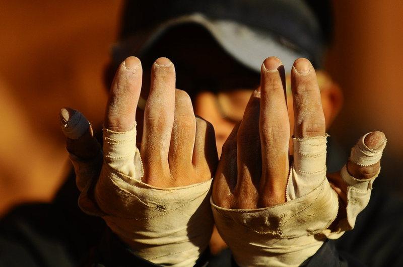 Rock Climbing Photo: Hands.