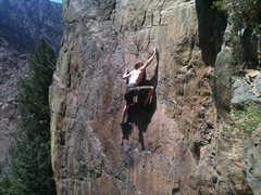 Peter J. destroying the crux.