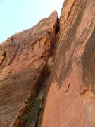 Rock Climbing Photo: this is the start of the climb