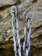 Rock Climbing Photo: Unknown's anchor