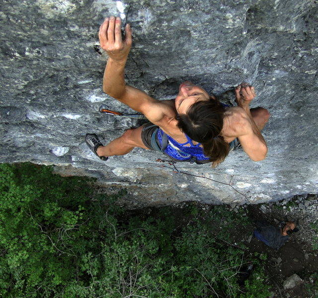 Rock Climbing Photo: Gray Matter