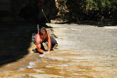 Rock Climbing Photo: Outer Limits, 5.10b in Yosemite, Cookie Cliff. Awe...