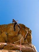 Rock Climbing Photo: Ka-choong, at The Arapilies, Australia