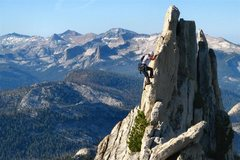 Rock Climbing Photo: Matthes Crest, Tuolumne, CA