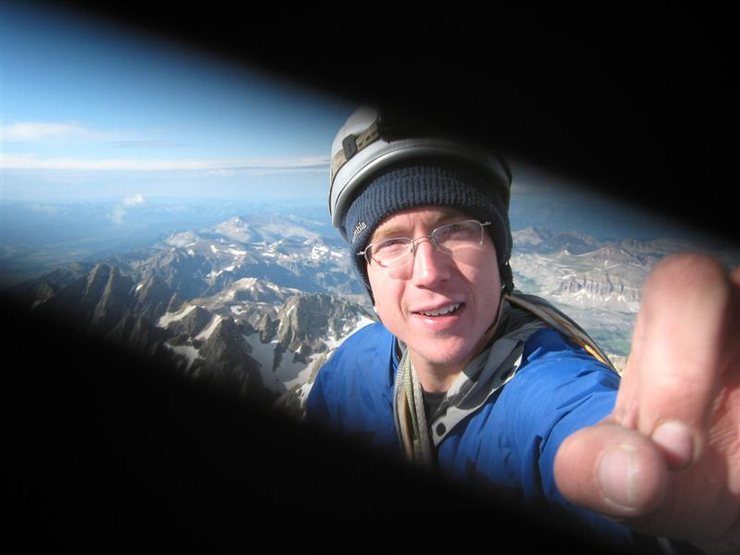 Rock Climbing Photo: Summit of Grand Teton