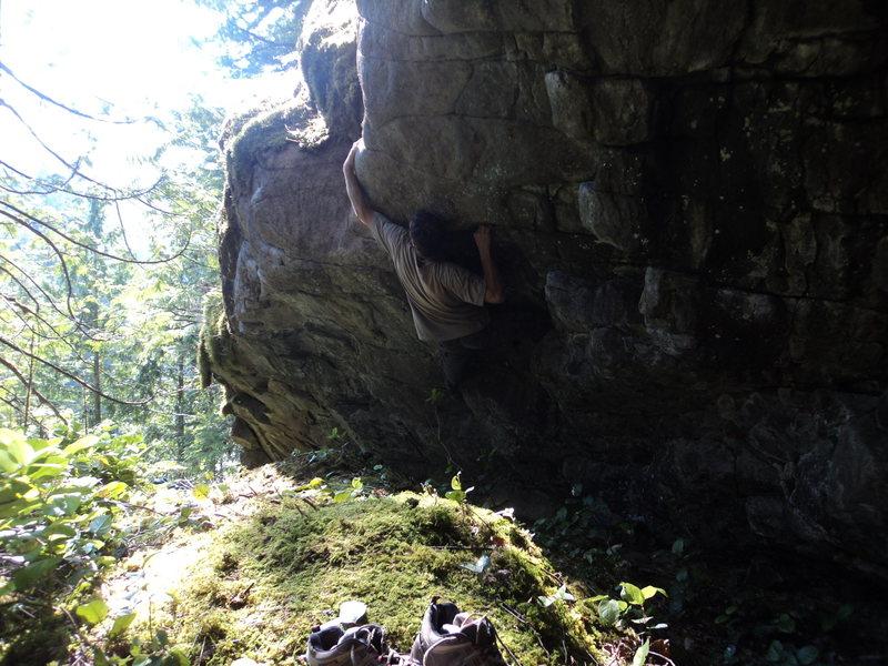 Rock Climbing Photo: MSP