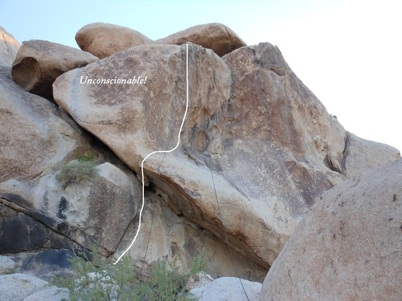 Rock Climbing Photo: Unconscionable!