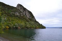 Rock Climbing Photo: The Bluff, as viewed from the Campsite