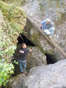 Rock Climbing Photo: This is just 1 of the many caves.