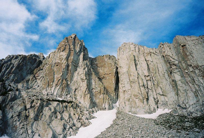 Summit Wall, The Thumb