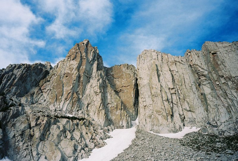 Rock Climbing Photo: Summit Wall, The Thumb