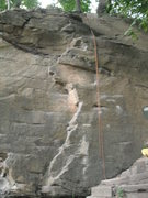 Rock Climbing Photo: Rope over Technical Difficulties