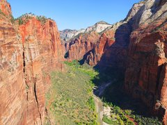 Rock Climbing Photo: Zion Nat'l Park