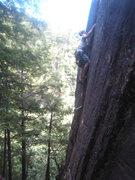 Rock Climbing Photo: Justin climbing Fast and Furious