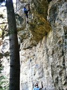 "Rock Climbing Photo: ""How many old guys ya see do that"" -Peri..."