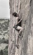 Rock Climbing Photo: A Morena vai sambar seu corpo todo balancar...