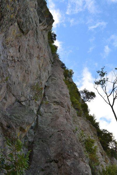Rock Climbing Photo: Sunset Ledge