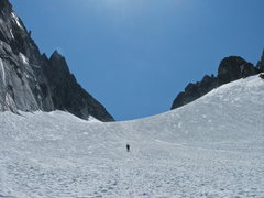 Rock Climbing Photo: Steve on the Decent of Colechuck