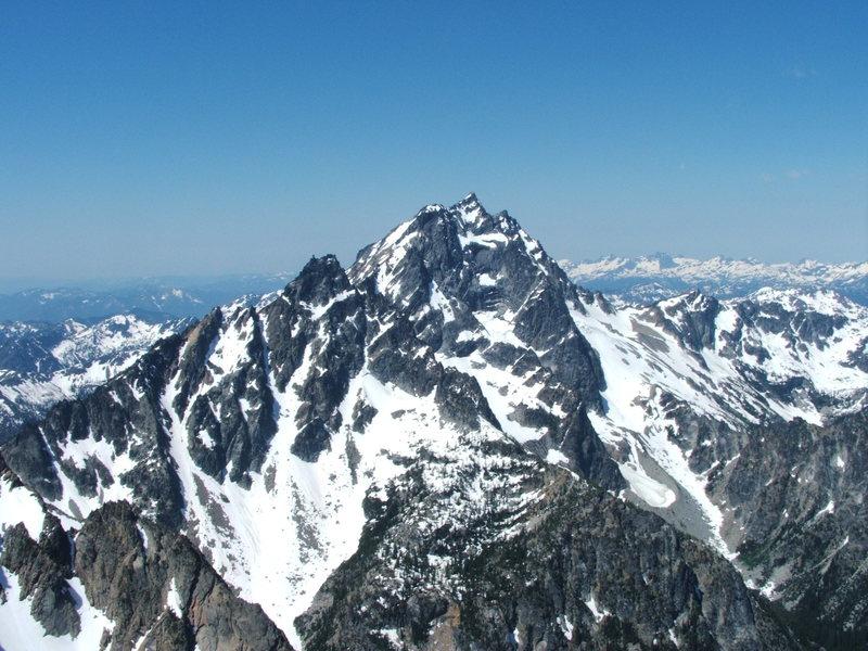 Mt. Stuart viewed from Colechuck
