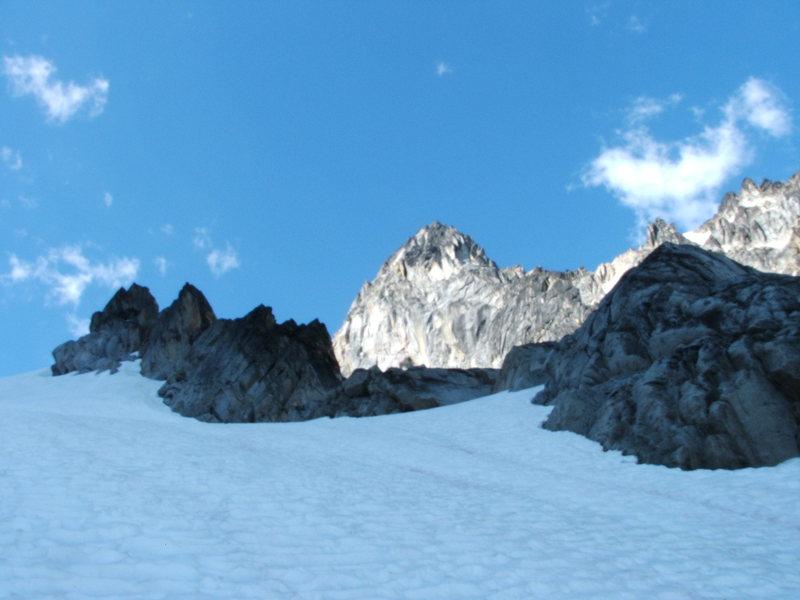 Rock Climbing Photo: False summit of Colechuck
