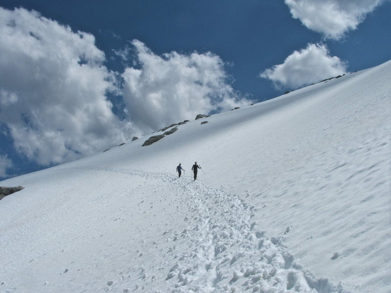 Descending Little Annapurna