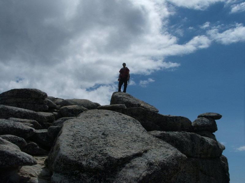 Me on the summit of Little Annapurna