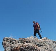 Rock Climbing Photo: The summit of Dragon Tail