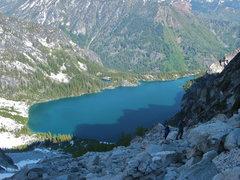 Rock Climbing Photo: Colchuck Lake