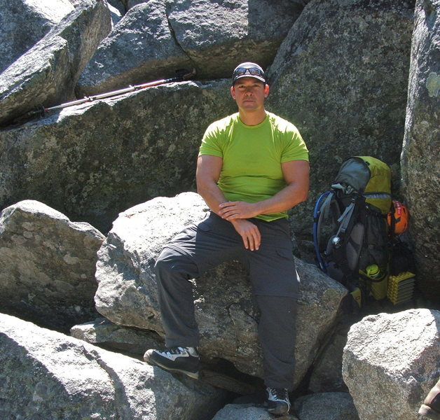 Rock Climbing Photo: Good Friend Charlie