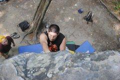 Rock Climbing Photo: IDK