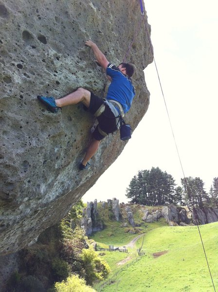 Rock Climbing Photo: Short but powerful
