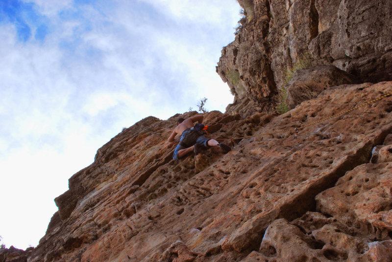Rock Climbing Photo: Jacks canyon, Flagstaff