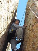 Rock Climbing Photo: A bit cramped?