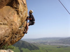 Rock Climbing Photo: A fun climb just to the right of Lim's & Dig It ca...