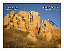 Rock Climbing Photo: Summit Blocks offers a variety of routes. All can ...