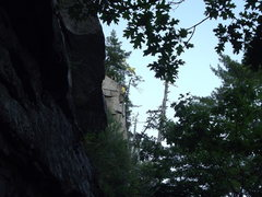 Rock Climbing Photo: Lee on belay and Loran following.