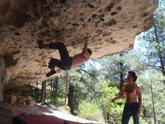 Rock Climbing Photo: Bat Roof, Priest Draw