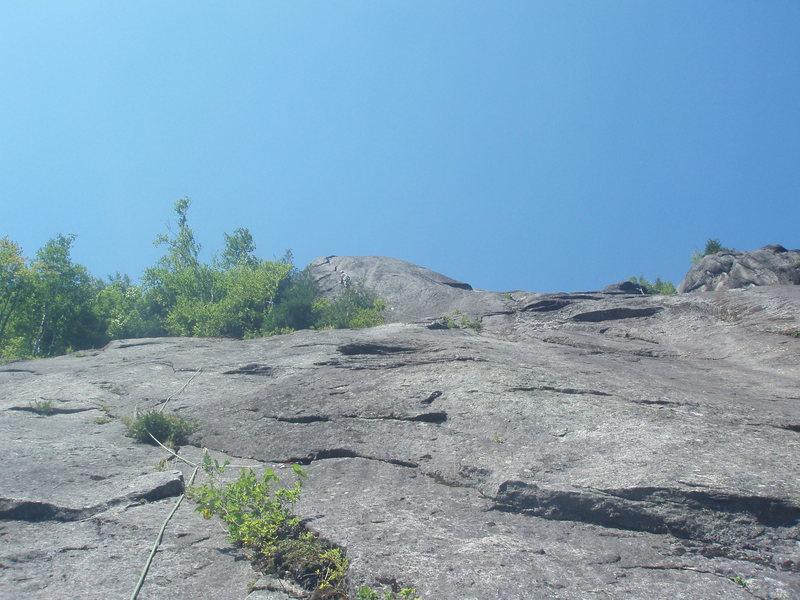 Rock Climbing Photo: Right before second simul-solo