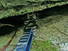 Rock Climbing Photo: The Camalot that held a few test falls.