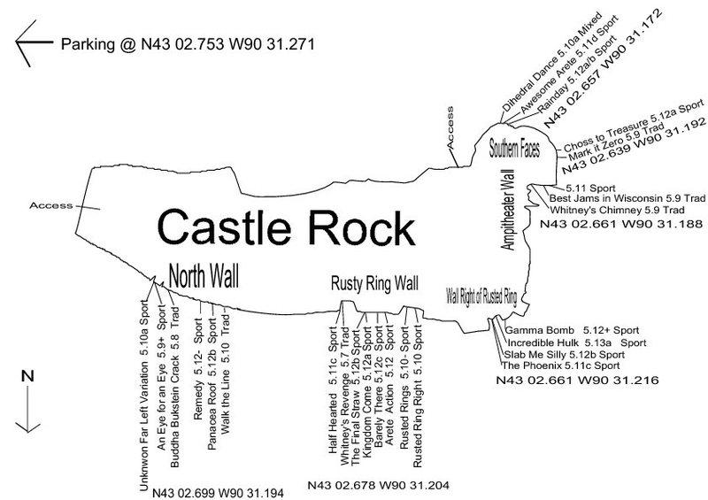 Castle Rock Topo