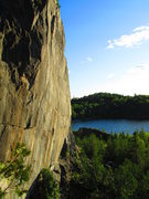 Rock Climbing Photo: Looking at the main face from the back of the area