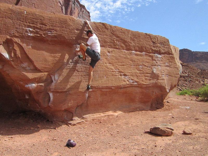 Nice boulder.<br>