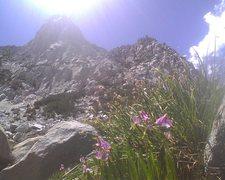 Rock Climbing Photo: Hurd peak from above long lake