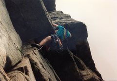Rock Climbing Photo: Tom in the Gunks