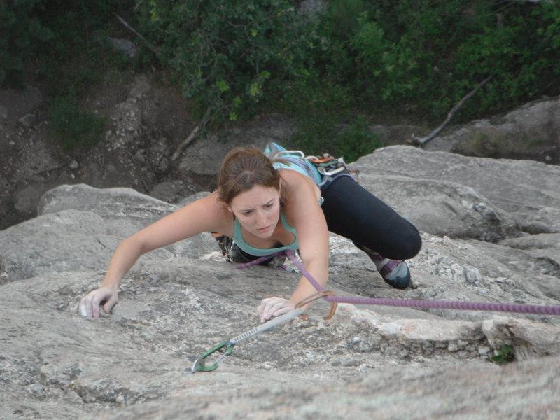 Me climbing Waves
