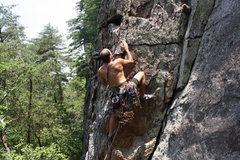 Rock Climbing Photo: Nuke The Whales Wall  Staying off Orange Corner an...